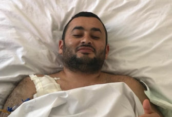 Wounded Candidate Feeling Better